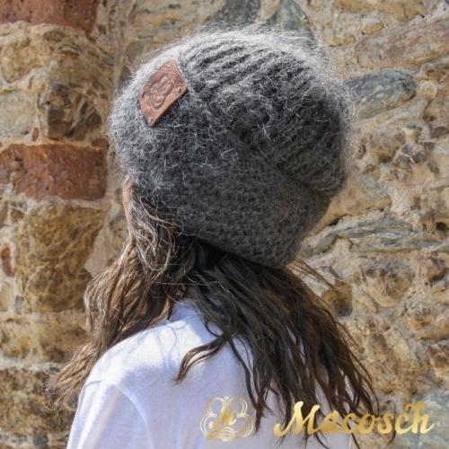 Gorro hipster punto lana 100% merino