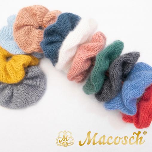 Mohair scrunchie
